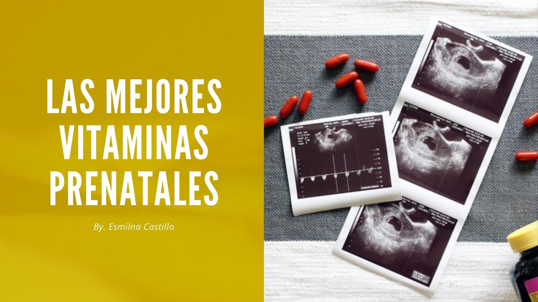 Las Mejores Vitaminas Prenatales
